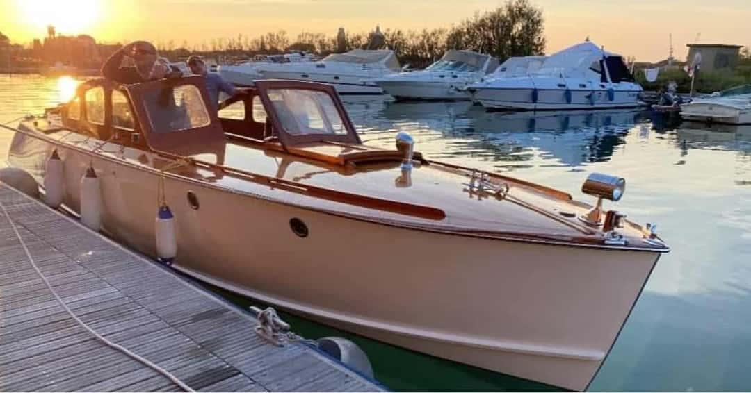 amperetta hybrid boat