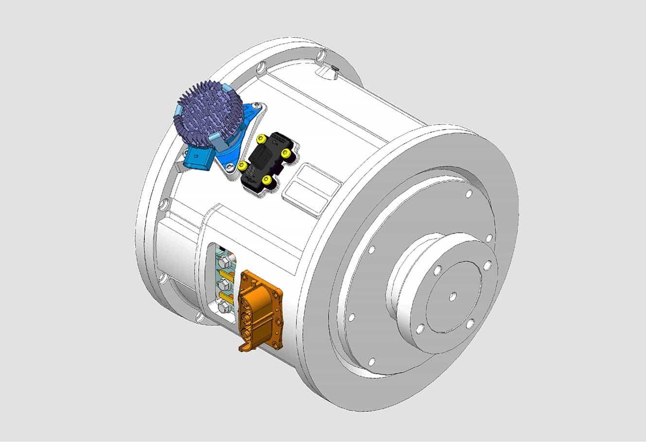 large hybrid module 50kw